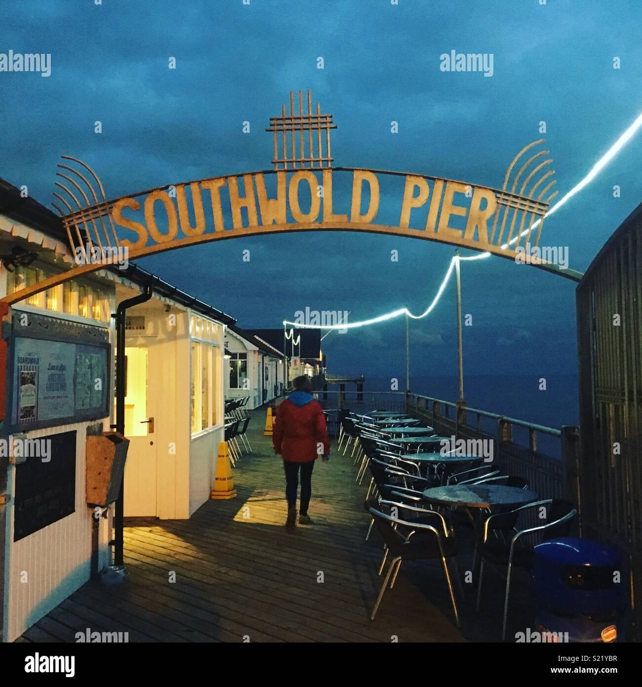 Suffolk, Seaside Imagens de Stock