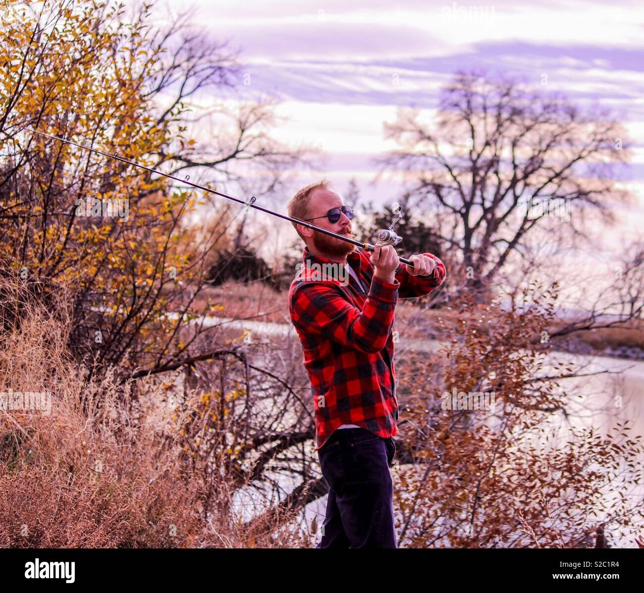Pesca Colorado Imagens de Stock