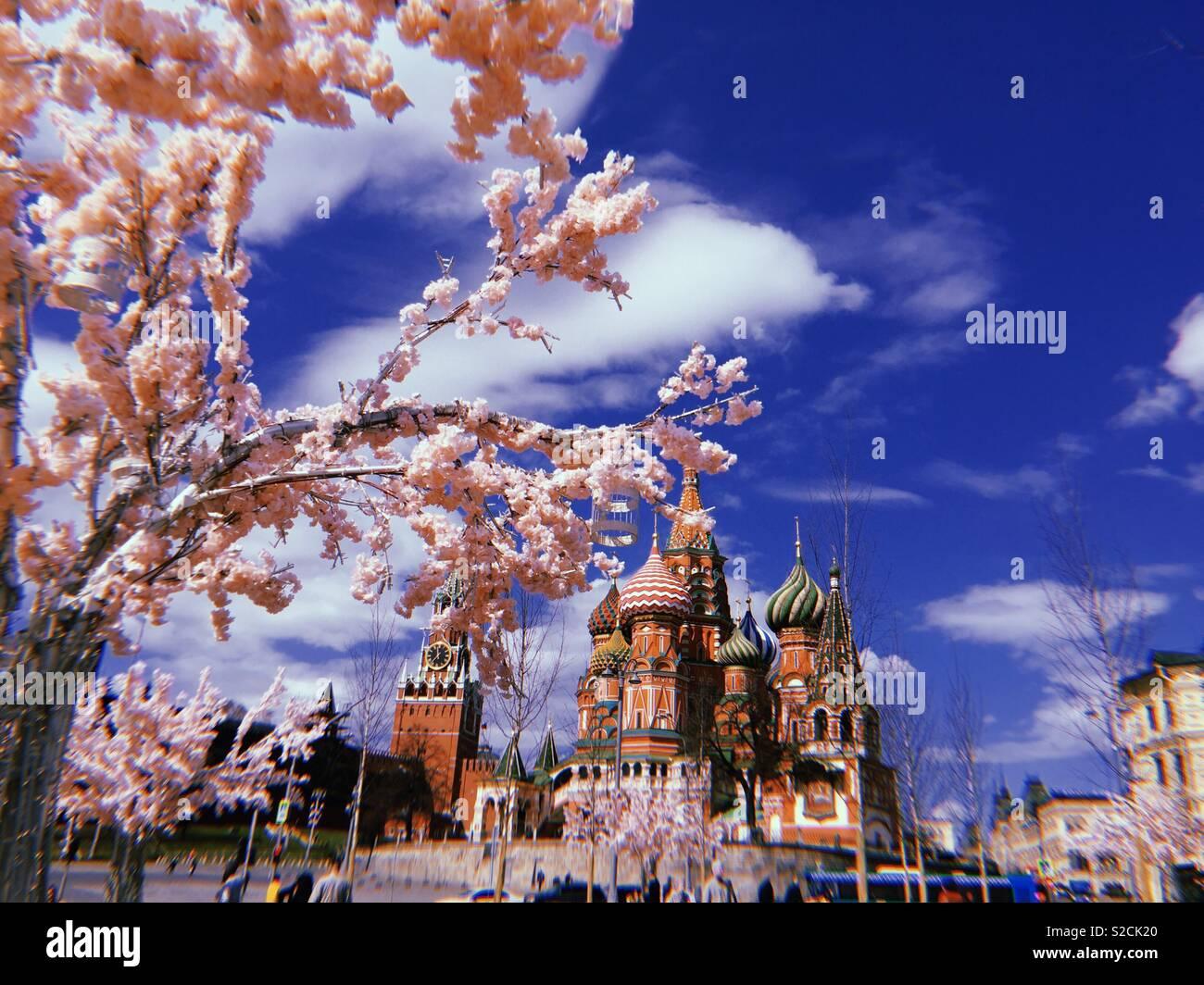 Moscou Imagens de Stock