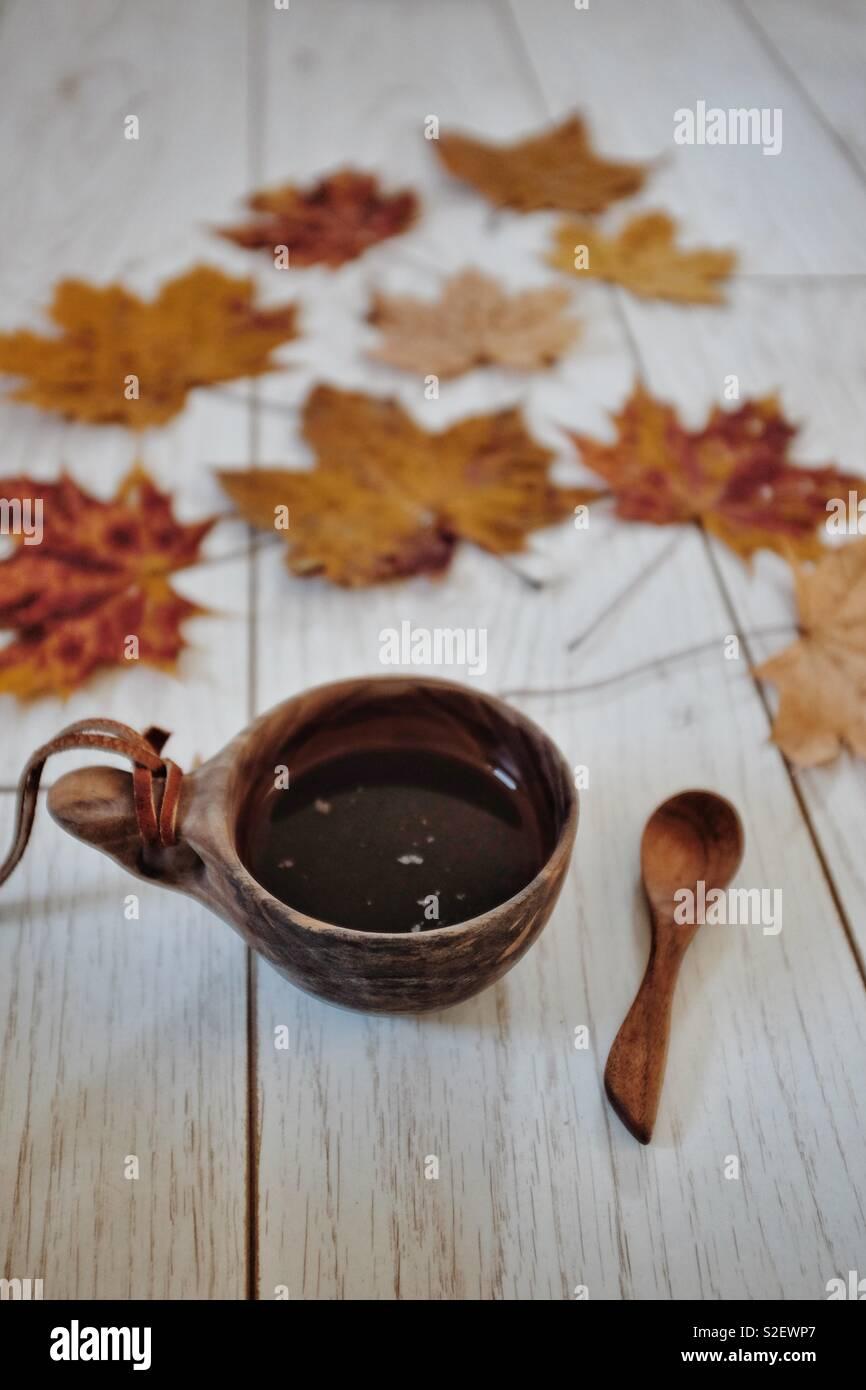 Amantes de café Imagens de Stock