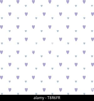 hearts pattern background icon cartoon vector illustration graphic design - Stock Image