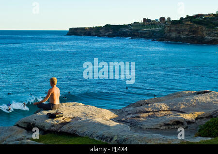 Oceania, Australia, Sydney, Bondi Beach - Stock Image