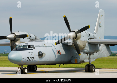 Croatian Air Force An-32B '707' - Stock Image