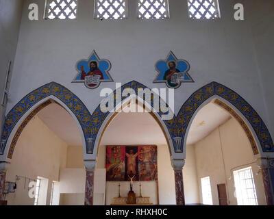 UGANDA  Catholic church of Kitgum - Stock Image