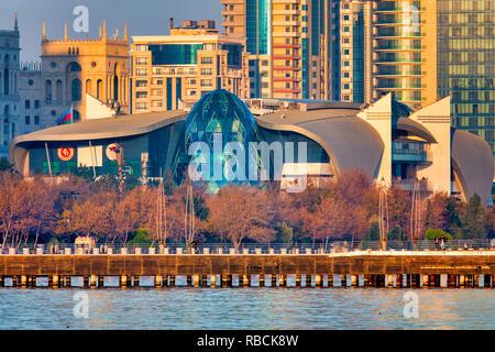 Park Bulvar shopping mall, Baku Azerbaijan - Stock Image