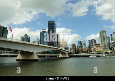 Bribane sklyline. Queensland, Australia - Stock Image
