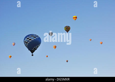 The Albuquerque International Balloon Fiesta in Albuquerque, New Mexico, USA - Stock Image