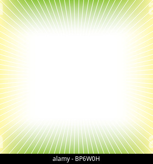Yellow green abstract background - Stock Image