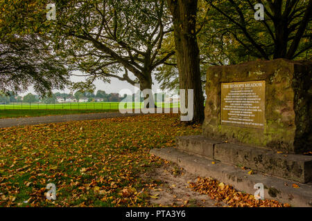 The Bishop's Meadow, Hereford, Herefordshire - Stock Image