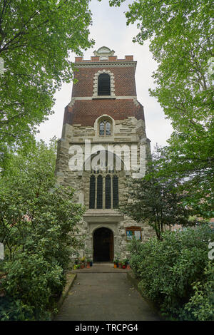 bow church bromley by bow - Stock Image