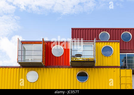 Trinity Buoy Wharf, Poplar, London, England, United Kingdom - Stock Image