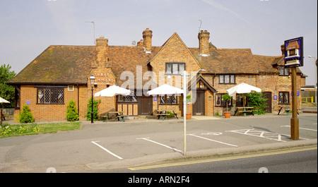 The Three Hammers Public House, St Albans, Hertfordshire, UK - Stock Image
