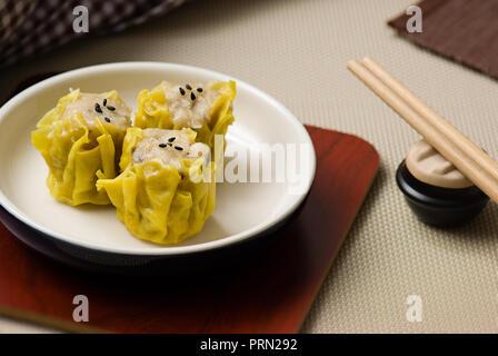 Food Dim Sum - Stock Image