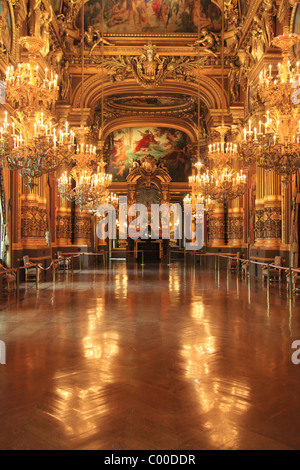 Opera Garnier in France Paris Tourist Destination - Stock Image