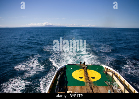MCA Anglian Prince tugboat under way in the Minch - Stock Image