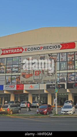 Econoprecios furniture megastore Panama city Panama - Stock Image