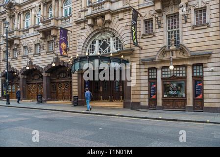 The London Coliseum theatre, St. Martin's Lane, London, England, UK - Stock Image
