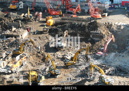 demolition - Stock Image