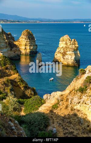 Algarve, morning scenics. Portugal, Europe - Stock Image