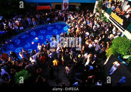 Wet party at The Phoenix Hotel in San Francisco. - Stock Image