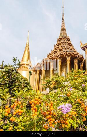 Building in the Grand Palace, Bangkok, Thailand - Stock Image