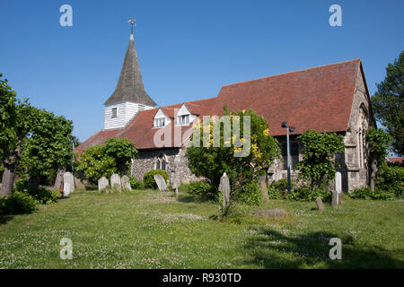 St Peter Paul Church, Horndon on the Hill, Essex, England - Stock Image