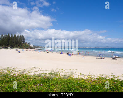 Tweed Heads Beach Landscape - Stock Image