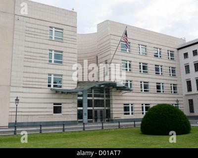 United States of America embassy Berlin Germany - Stock Image