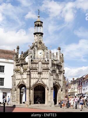 Historic Chichester Market Cross - Stock Image