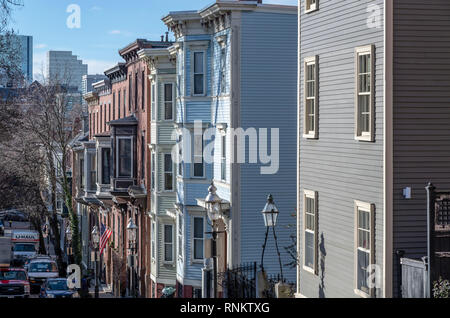 Charlestown, Boston, Massachusetts, USA - Stock Image