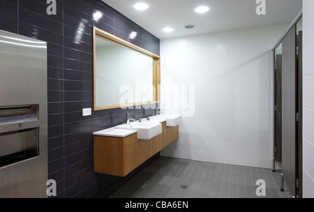 Modern restrooms - Stock Image