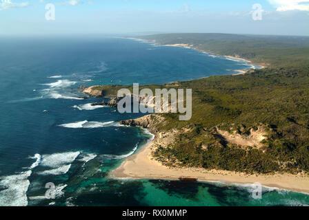aerial, Cape Mentelle, Prevelly, Western Australia - Stock Image
