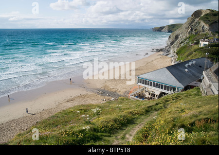 Watergate Bay, Newquay, Cornwall. - Stock Image