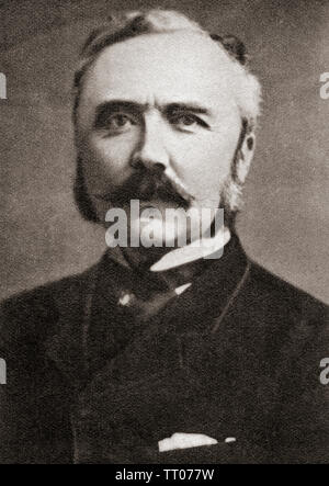 Sir Henry Campbell-Bannerman, 1836 – 1908. British statesman, Liberal Party politician and Prime Minister of the United Kingdom.  From The Pageant of the Century, published 1934. - Stock Image