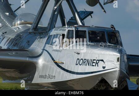 Dornier Do-24 ATT 'flying boat', vintage water plane. - Stock Image