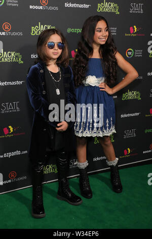 Sydney, Australia. 12th July 2019. Jack and the Beanstalk Giant 3D musical spectacular red carpet at the State Theatre. Pictured: Kaan Guldur. Credit: Richard Milnes/Alamy Live News - Stock Image