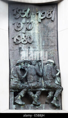 Monument to the fallen Shipyard Workers Gdańsk Danzig Gdansk Poland Polska - Stock Image