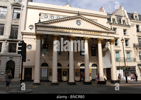 Theatre Royal Haymarket London July 2010 - Stock Image