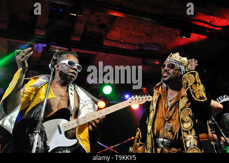 Garry Shider, from George Clinton and Parliament-Funkadelic - Stock Image