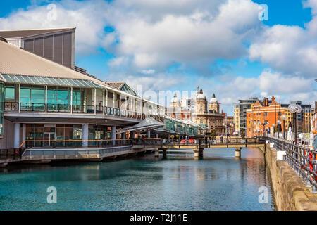 Princes Quay,Shopping Centre,Kingston upon Hull,England - Stock Image