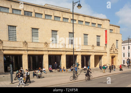 The Weston Library in Broad Street, Oxford - Stock Image