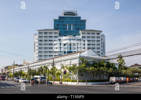 Phuket, Thailand 21st January 2019: The renovated Novotel in Phuket Town. The hotel is part of a chain. - Stock Image