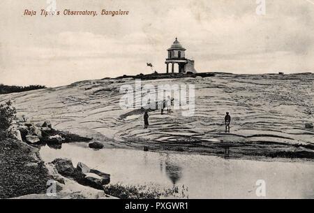 Tipu Sultan ('Tippoo Saib') Observatory - Bengaluru (Bangalore), India.     Date: circa 1910s - Stock Image