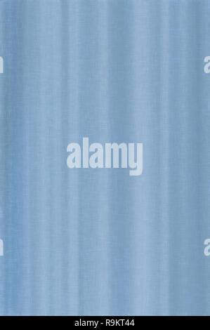 Bright white sky blue pale pastel fiber linen texture swatch background, detailed vertical macro closeup, rustic vintage textured fabric burlap canvas - Stock Image