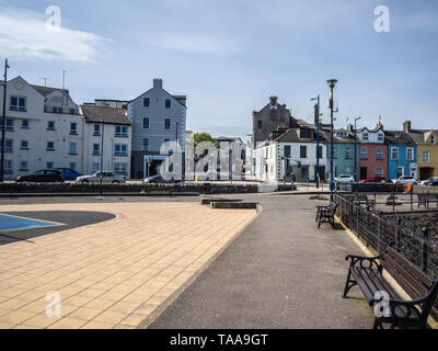 Donaghadee - llooking up New Street from the seafront - Stock Image