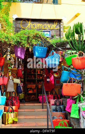 Colorful souvenir shop in Provence, France - Stock Image