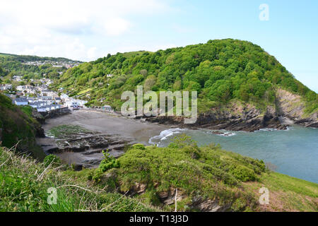 Hele Bay, Devon, UK - Stock Image