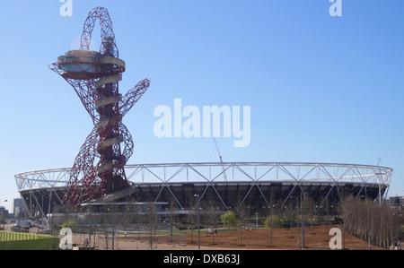 Olympic Stadium Stratford London - Stock Image