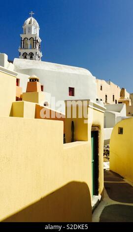 Emporio, Santorini, Greece - Stock Image