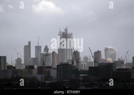 London UK Skyline Cityscape - Stock Image